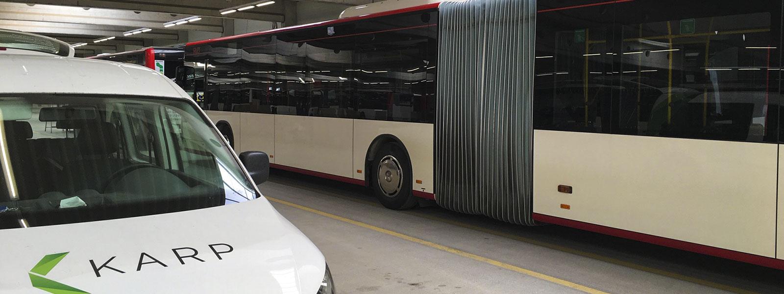 Karp GmbH Fahrzeugeinbauten ITCS Tetra BG-Fis/ Ifis/ Dfi WLAN Ortungssysteme